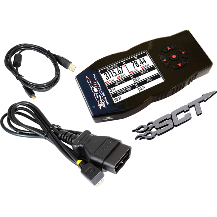 SCT 7015 X4 POWER FLASH PROGRAMMER 1999-2016 FORD POWERSTROKE