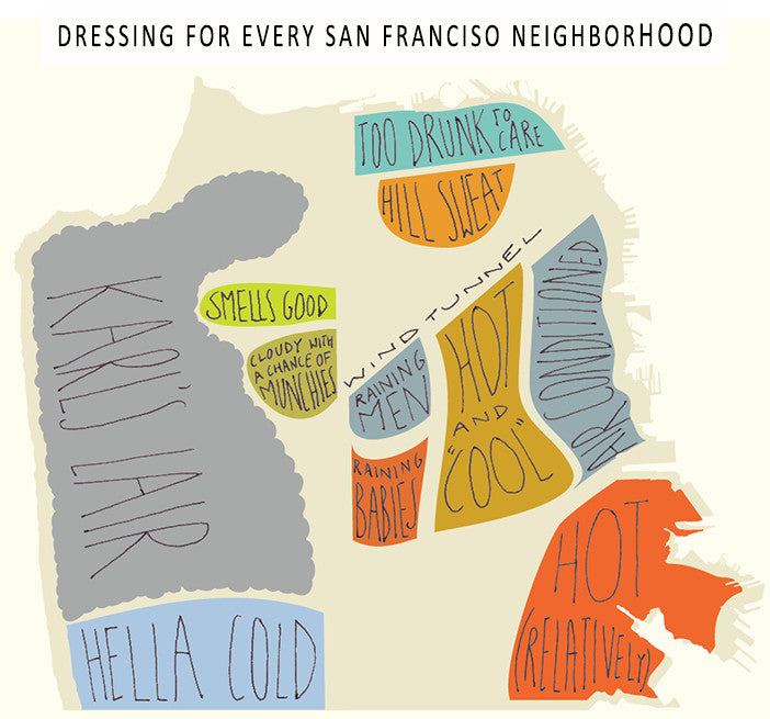 It's Cold in the Shade - Outerwear for Every San Francisco Neighborhood