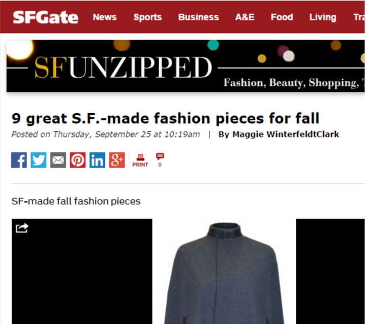 9 Great S.F.- made fashion pieces for fall