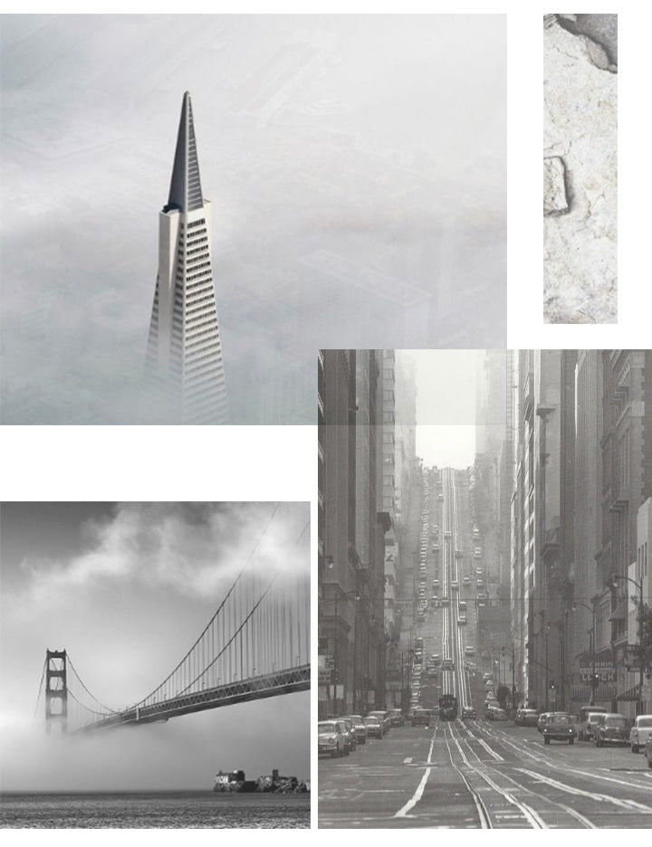 San Francisco city concrete photography