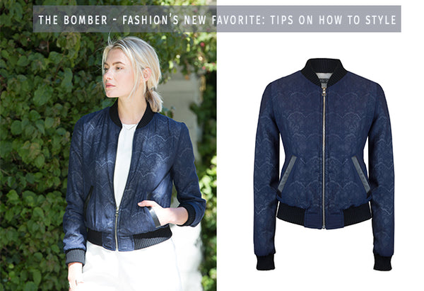 How To: Style a Bomber Jacket