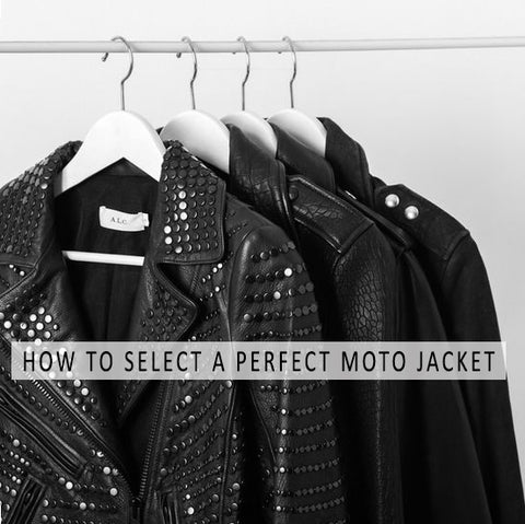 How to Select a Perfect Moto Jacket