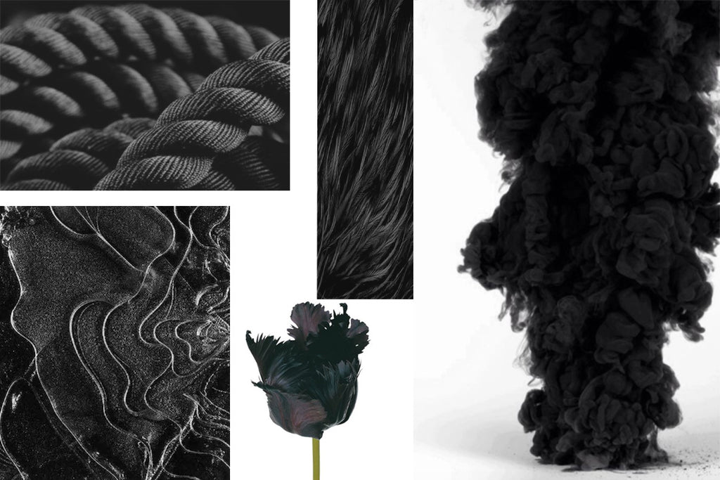 Black Velvet Mood Board