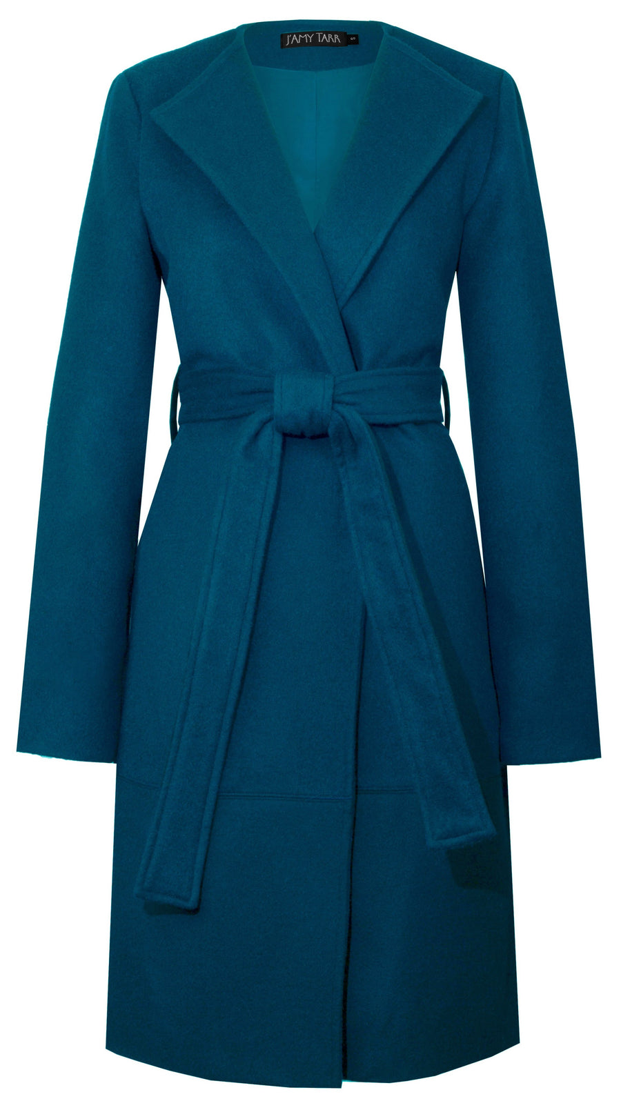 The Blanket Coat in Peacock