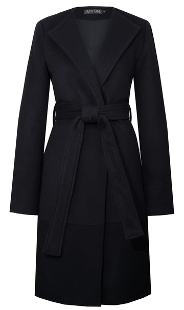 The Blanket Coat in Black
