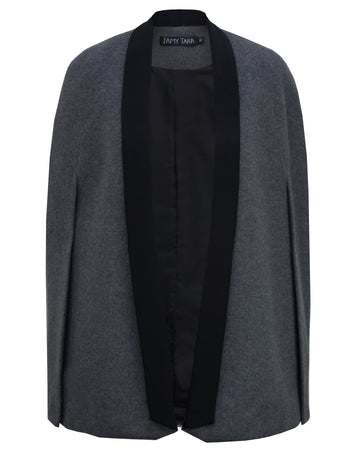 Tux Cape in Charcoal