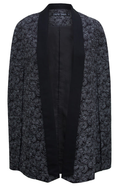 Tux Cape in Dark Floral
