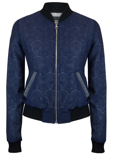 The Sapphire Lace Bomber