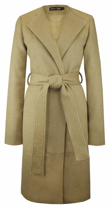 The Blanket Coat in Camel