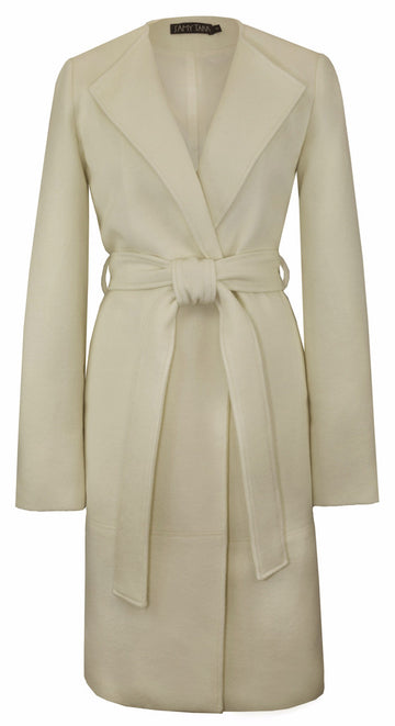 The Blanket Coat in Cream