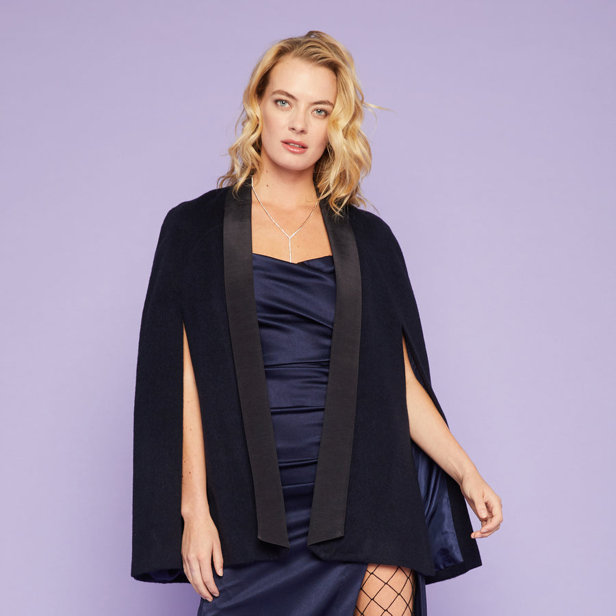 Tux Cape in Navy