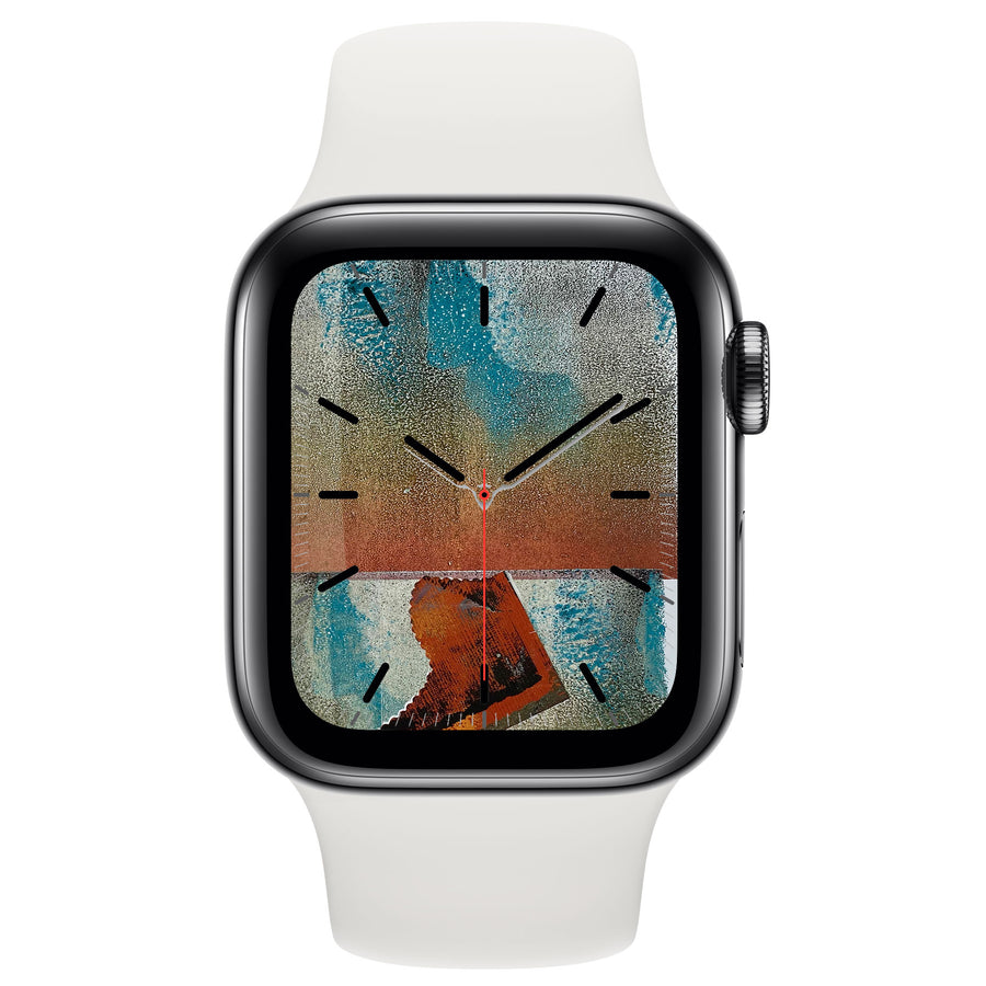 Monoprint VII - Free Apple Watch Face download