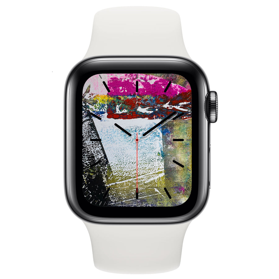 Monoprint V - Free Apple Watch Face download