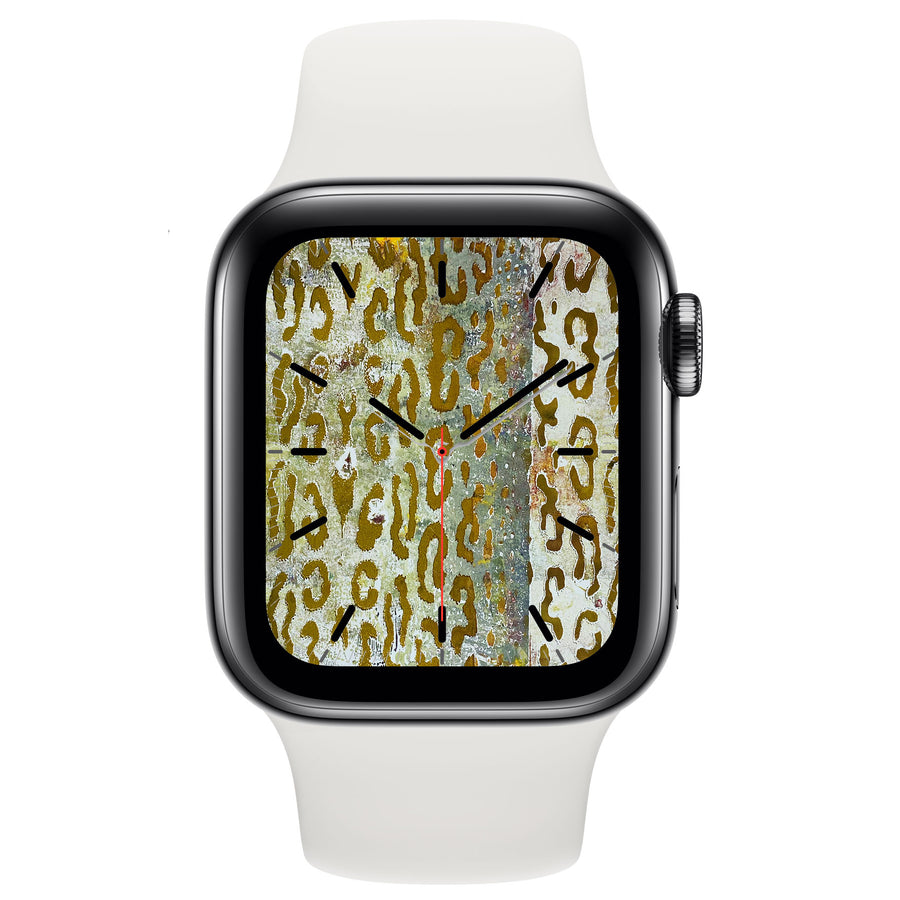 Monoprint VI - Free Apple Watch Face download