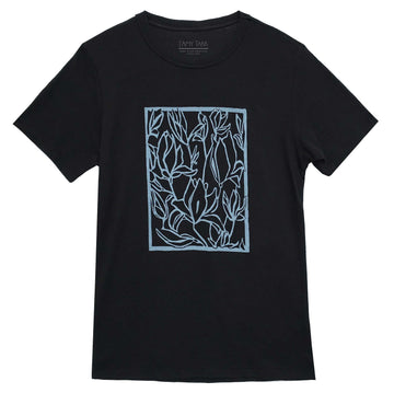 Limited Edition Block Print T-Shirt - Unisex Relaxed Fit