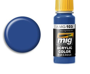 17ml Medium Blue Ammo Mig 0103