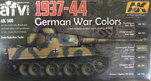 AK Interactive AFV Series 1937-44 German war colors