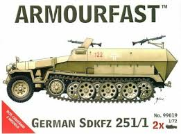 1/72 scale Military Vehicles (20mm) SDKFZ 251/1