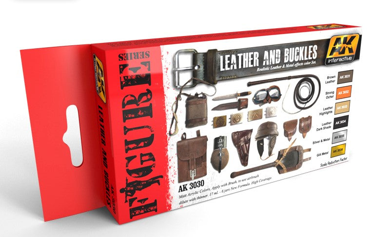AK Interactive Figure Series Leather and Buckles