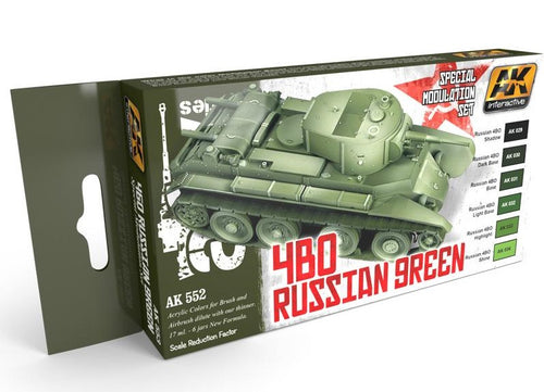AK Interactive AFV Series 4BO Russian Green