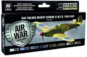 Vallejo Air War color series Raf Desert scheme&M,T,O 1940-45