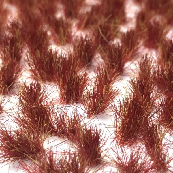Scenic Selection Static Grass Tufts Martian Sunset 6mm Random