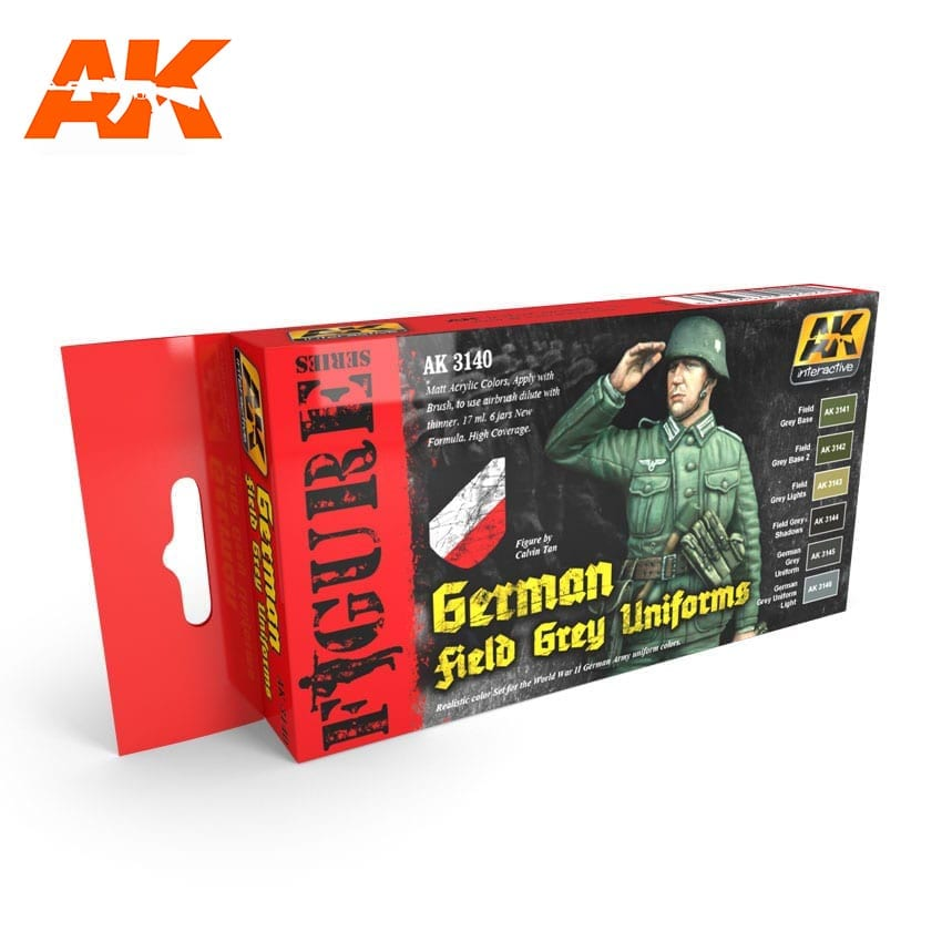 AK Interactive Figure Series German Field Grey Uniforms