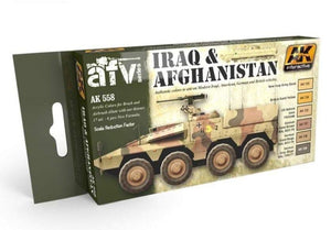 AK Interactive AFV Series Iraq&Afghanistan