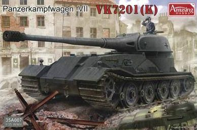 1/35 Scale Military Vehicles Panzerkampfwagen VII VK7201 (K)