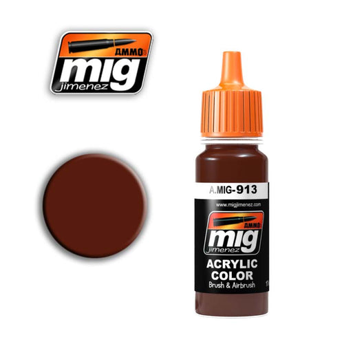 Ammo mig Red brown base