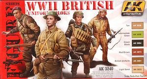 Ak Interactive Figure series ww2 British uniforms