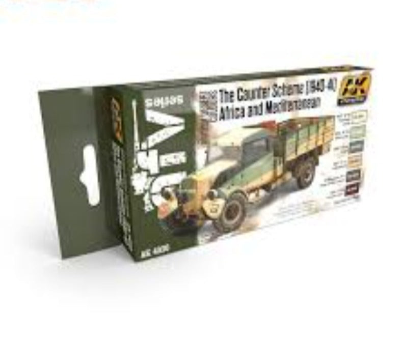 AK Interactive AFV Series The cauter Scheme 1940-41