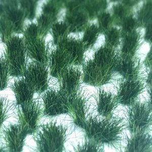 Scenic Selection Static Grass Tufts Dark Green Tufts 6mm Random
