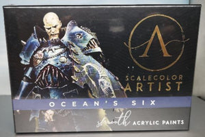 Scalecolor Artist Sets Ocean Six SSAR-06