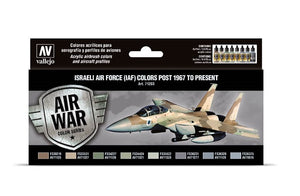 Vallejo Air war color Series Israeli Air Force (IAF) colors Post 1967 to Present