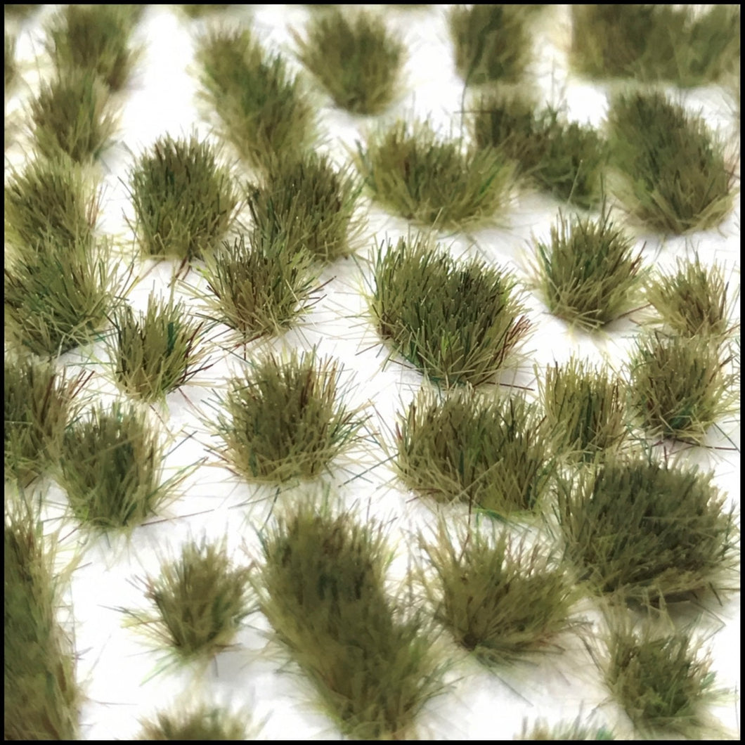 Scenic Selection Static grass Tufts Light Green 4mm Random