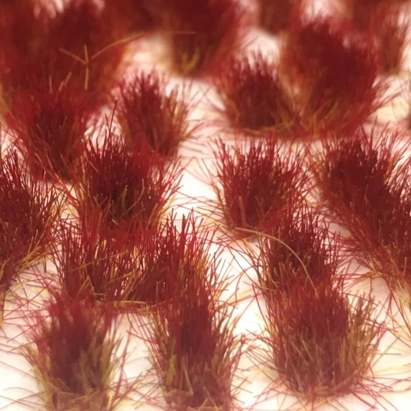 Scenic Selection Static Grass Tufts Martian Sunset 4mm Random