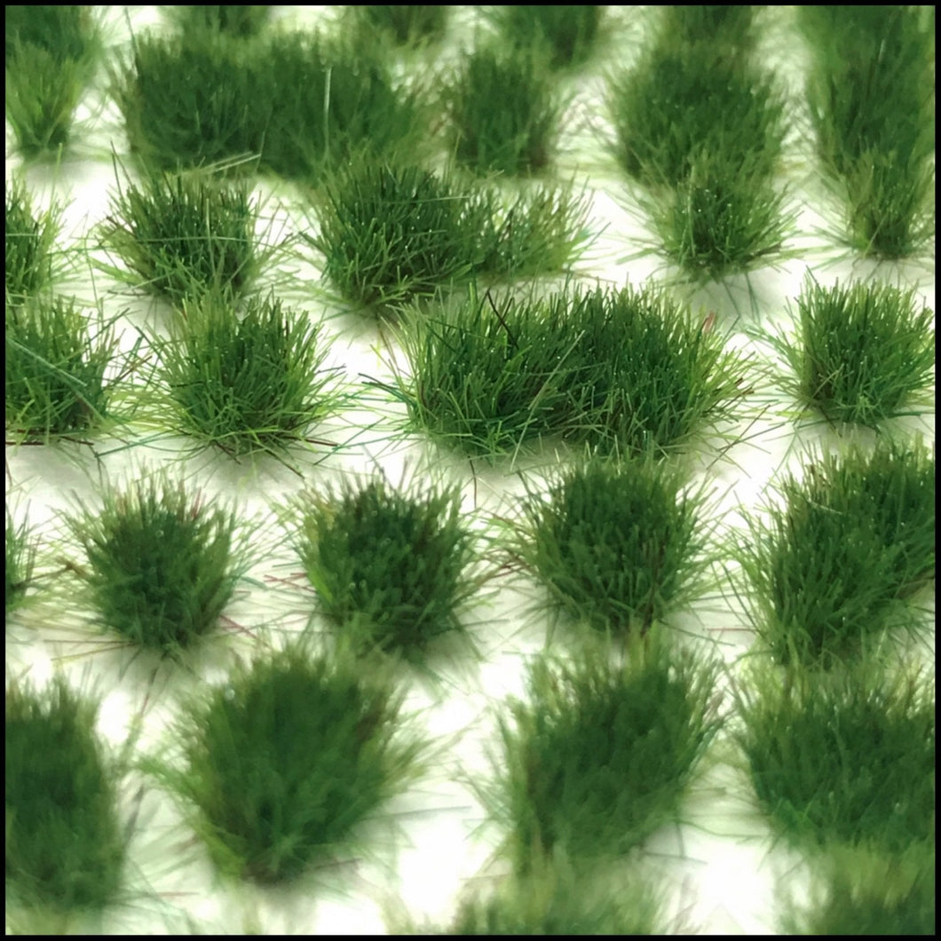 Scenic Selection Static Grass Tufts Medium green Grass 4mm Random