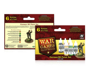 Vallejo War games Paint Series set german SS