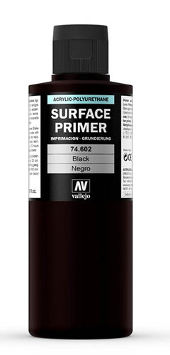 Surface primer's Vallejo Black 200ml
