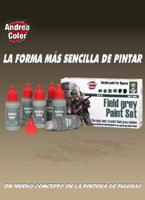 Andrea Color Paint Sets Field Grey ACS10