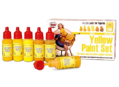 Andrea Color yellow Paint Set