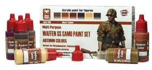 Andrea Color Waffen SS Camo Paint Set Autumn colors