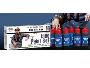 Andrea Color Blue Paint Set