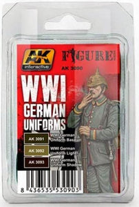 AK Interactive Figure Series sets WWI German Uniforms