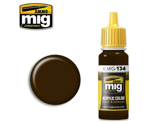 Ammo Mig Burnt brown red
