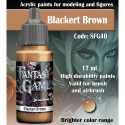 Scalecolor Fantasy And Games Blackert Brown SFG40