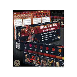 Scale75 Sets Blood and Fire Red Paint Set