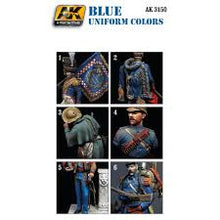 Load image into Gallery viewer, AK Interactive Figure Series Blue Uniform