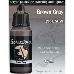 Scalecolor75 paint brown Gray: code SC59